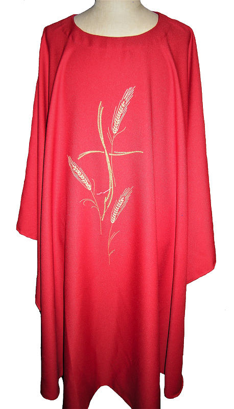 Chimay Chasuble rouge